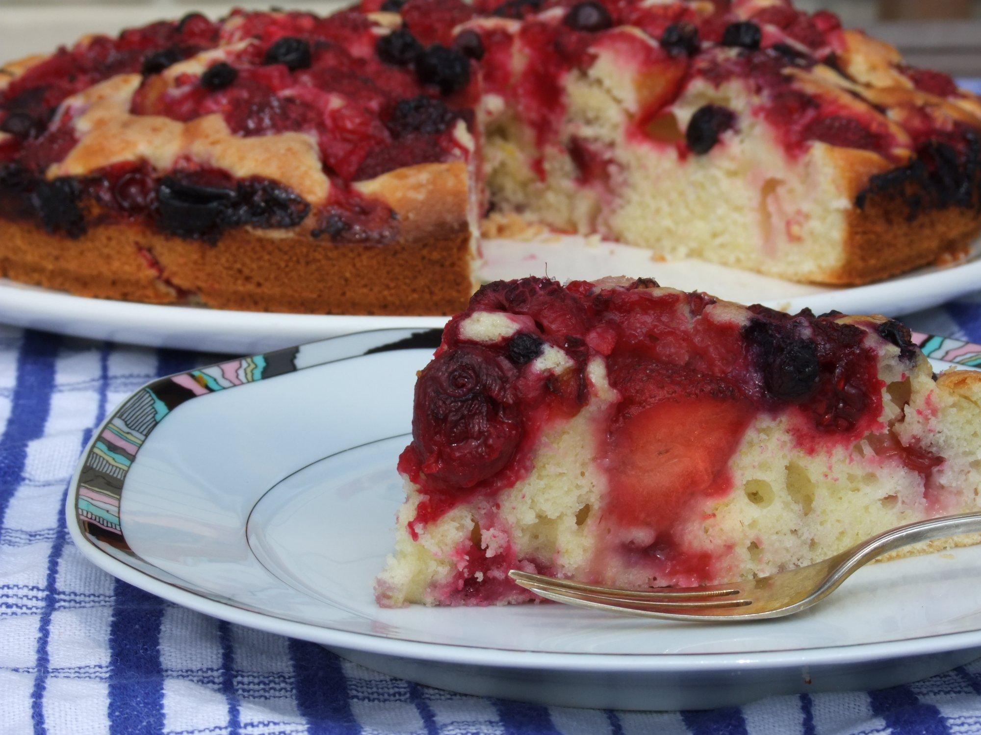 Как сделать пирог из смородины 975