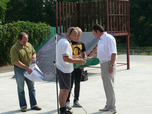 Открытие скейт-парка в городе Хмельницком