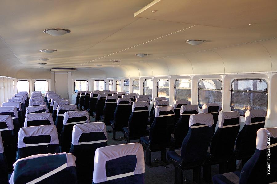 Пассажирский салон теплохода «Ракета-246»
