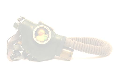 Уточка №4 борется с дымом и смогом