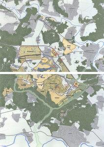 Застройка коттеджными посёлками на 23-м километре Новорижского шоссе