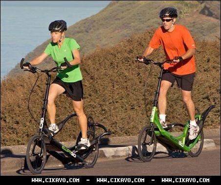 Велосипед без сидіння? Та не може бути! Фото. Відео