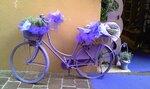 Лавандовый велосипед