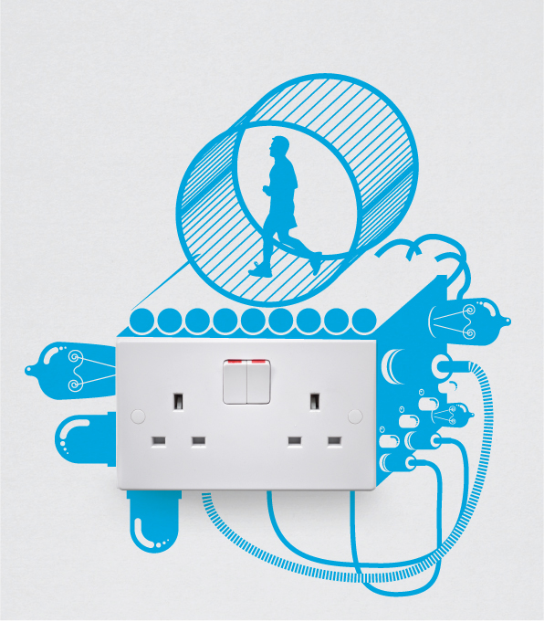 Electricity Series Art