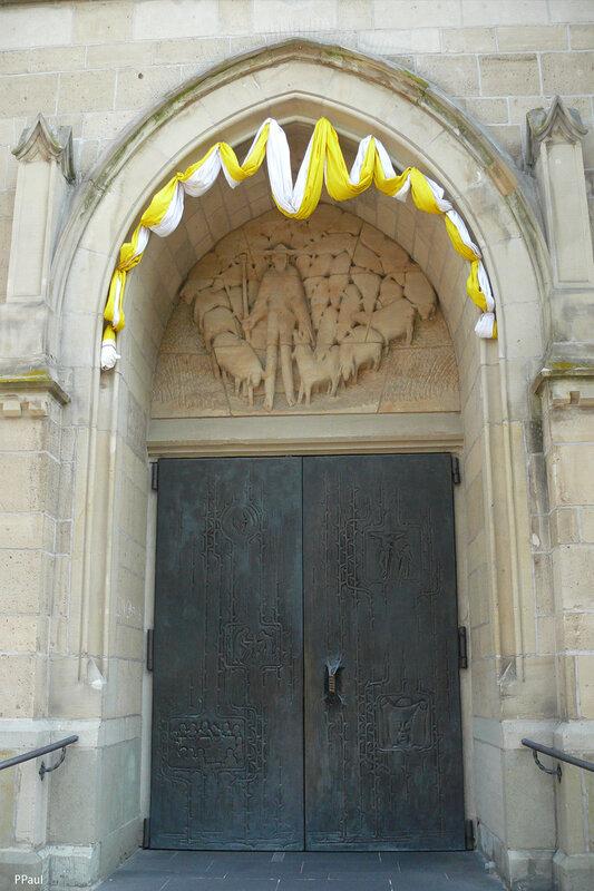 ГЕРМАНИЯ. Ойскирхен. Церковь Сердца Иисуса (Kirche Herz Jesu)