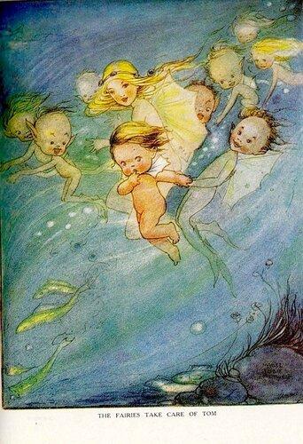 Дети вод, иллюстрация