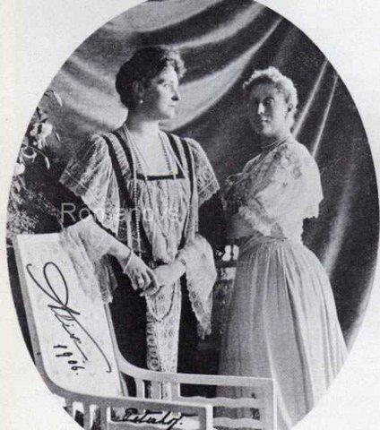 Имперетрица с сестрой Ириной1906г