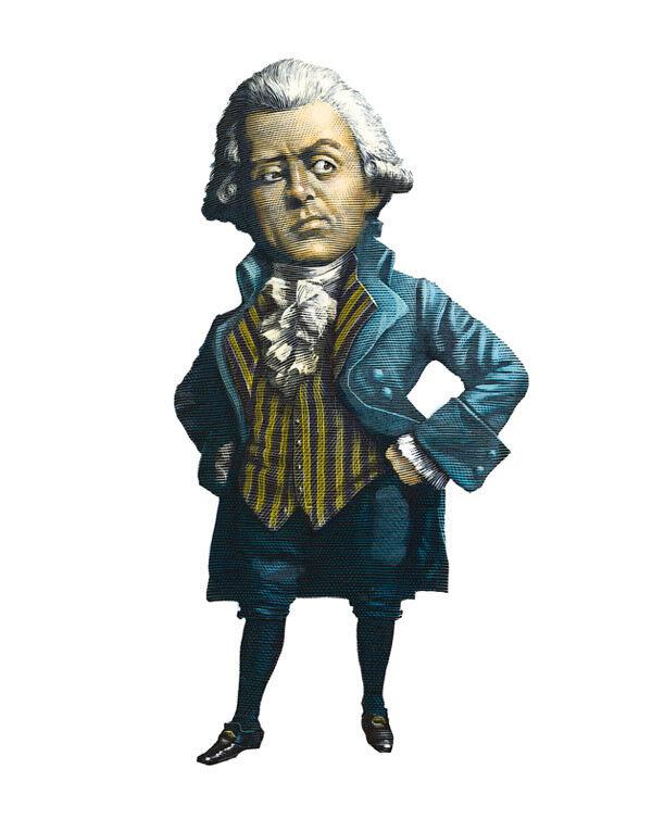 Robespierre,cartoonist  MarkSummers.