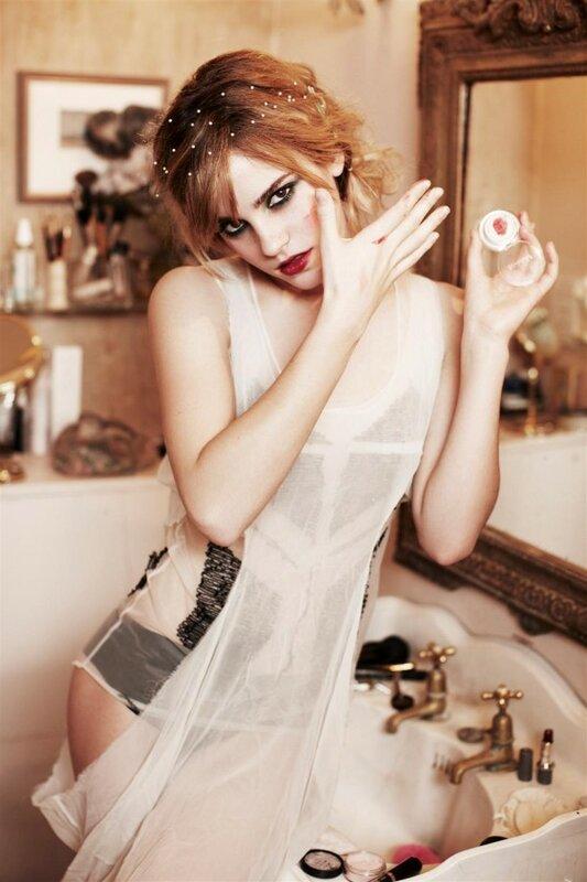 Эмма Уотсон / Emma Watson.Работы фотографа Ellen von Unwerth