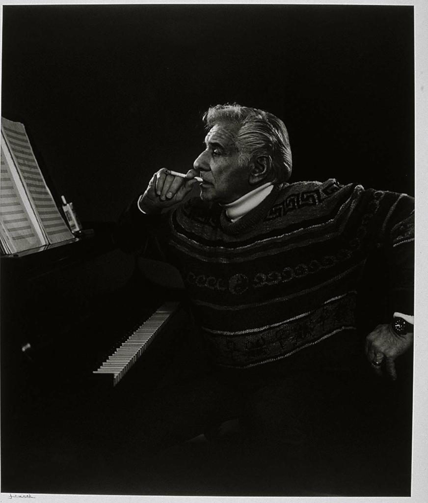 Леонард Бернстайн1985 Юсуф Карш Канадский фотограф 1908-2002