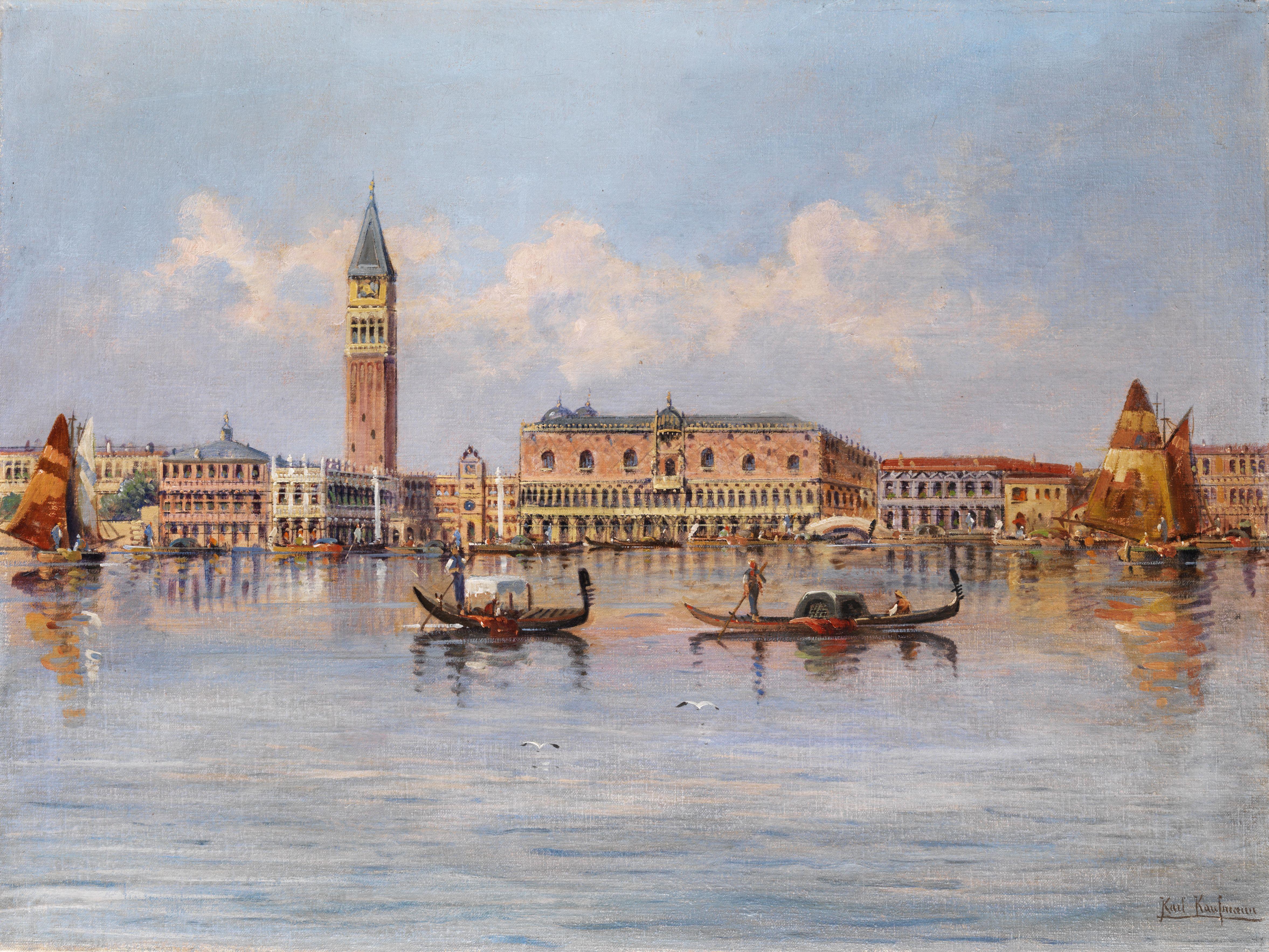 Karl Kaufmann Ansicht von Venedig
