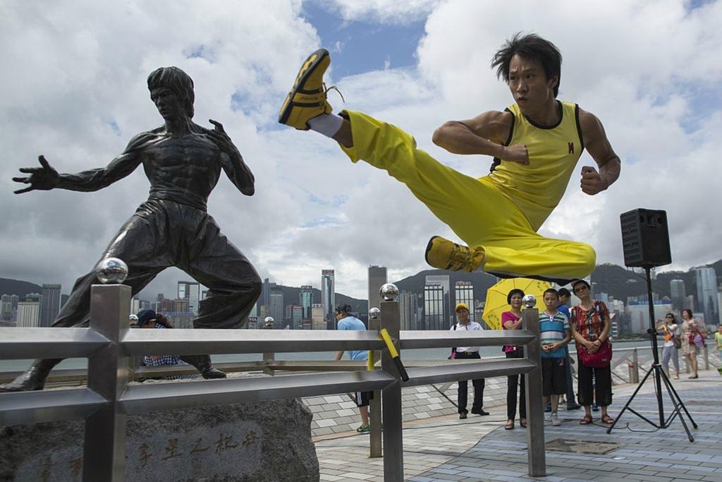 В Гонконге вспоминали Брюса Ли в 40-ю годовщину его смерти