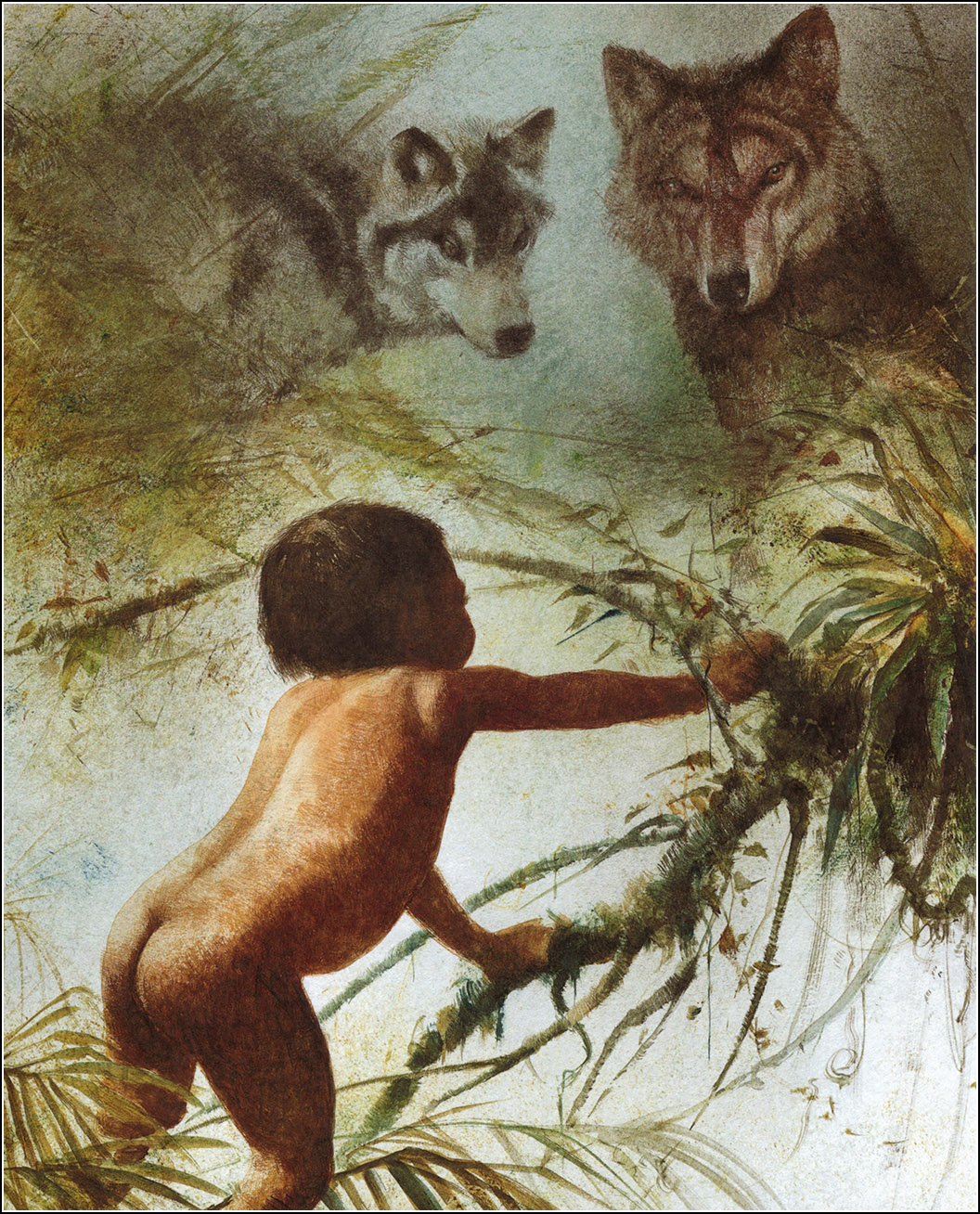 TThe Jungle Book.  Robert Ingpen