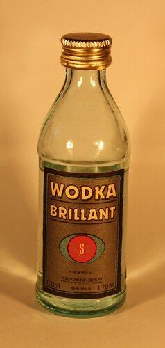 Водка Wodka Brillant Veb Schilkin Berlin