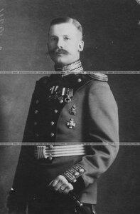 Подпоручик бригады в парадной форме (портрет).