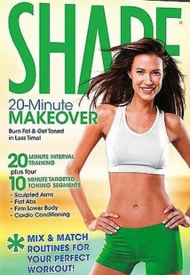 Книга Shape 20 Minute Makeover (DVDVRip) 2009
