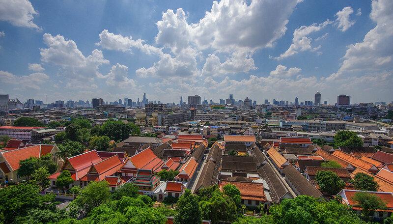 Бангкок с высоты