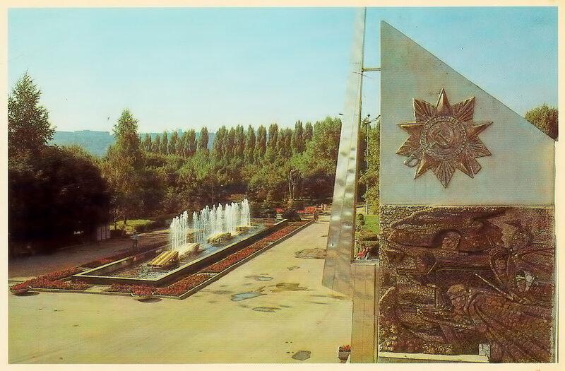 """старый фонтан """"гвардейская лента"""", Белгород"""