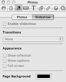 Рис. 9.64. Опции добавления картинок на ваши страницы