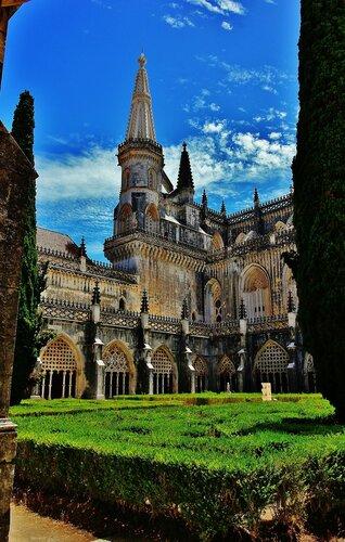 В монастыре Баталья