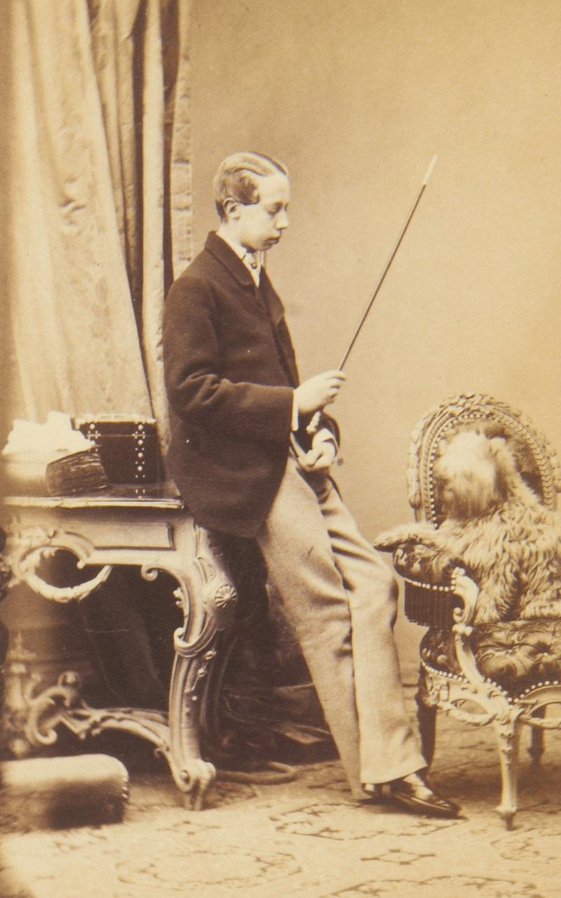 Эрцгерцог Людвиг Виктор Австрии (1842-1919)  c.1860