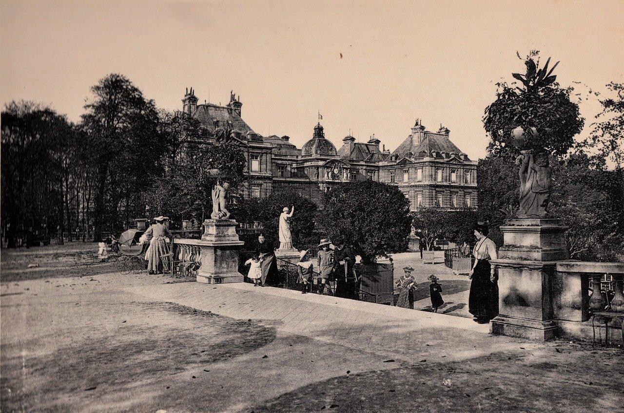 1910-е. Люксембурский сад