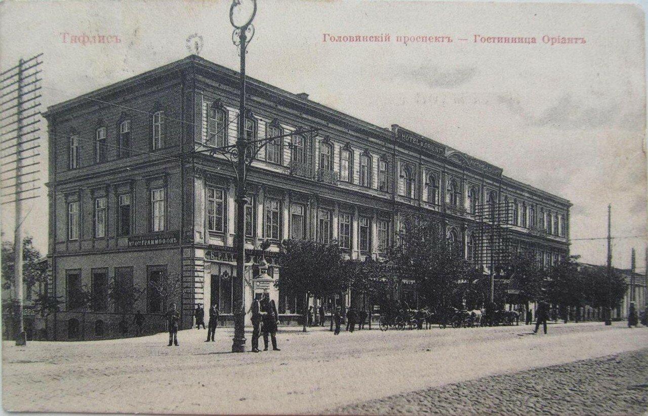 Головинский проспект. Гостиница Ориант