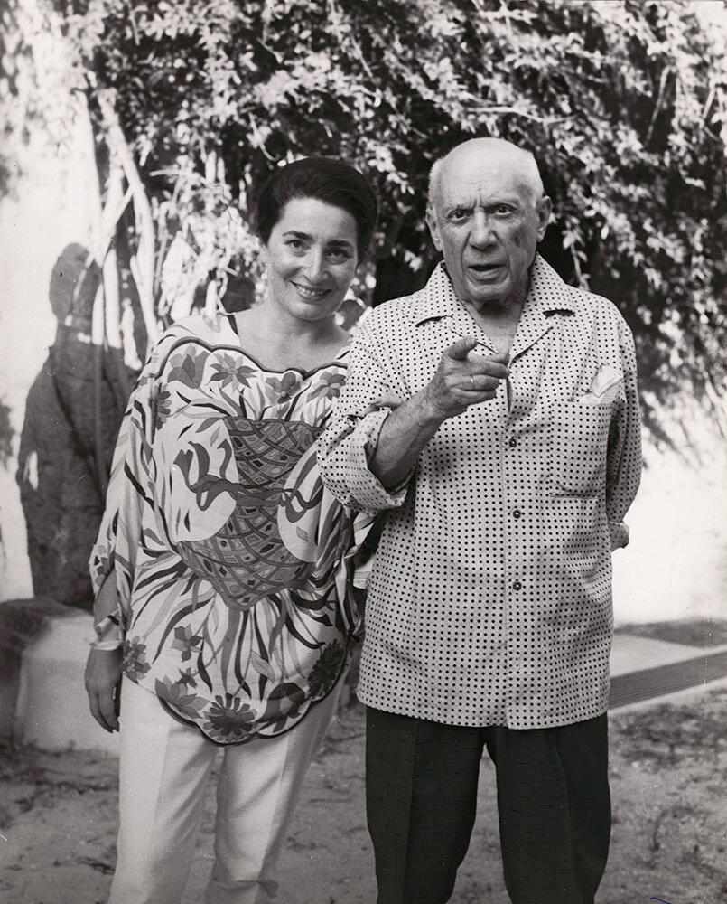 1966. Жаклин и Пикассо