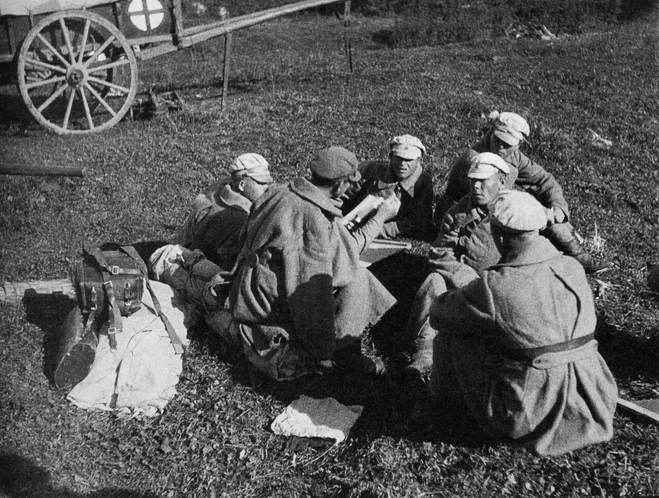 1924. Маневры Красной Армии. Репортаж