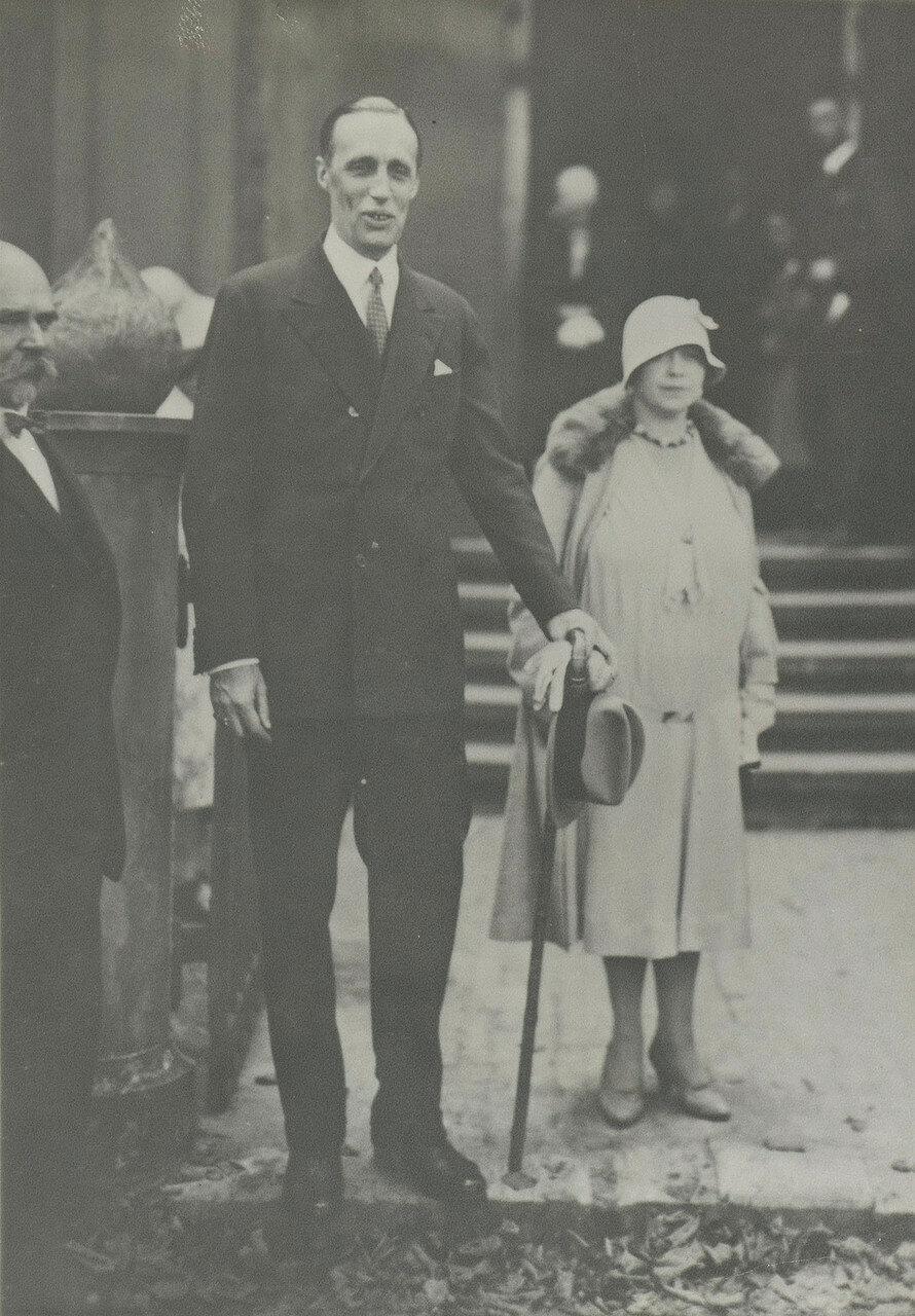 1945. Гавриил Константинович и его жена Антонина Нестеровская (1890-1950)