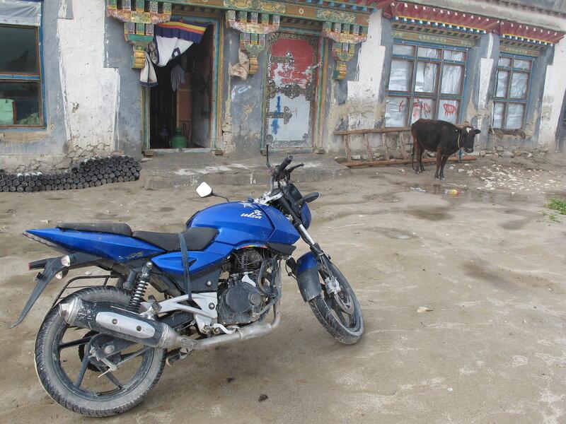 Тибетские странствия-5. Байкеры.