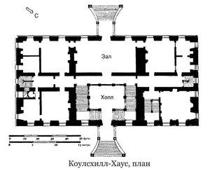 Коулсхилл-Хаус, план