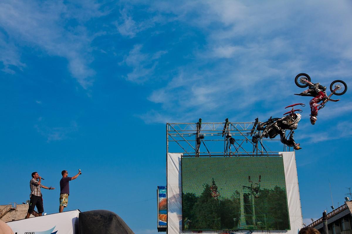 Международный спортивный форум Москва 2010 - Мотофристайл