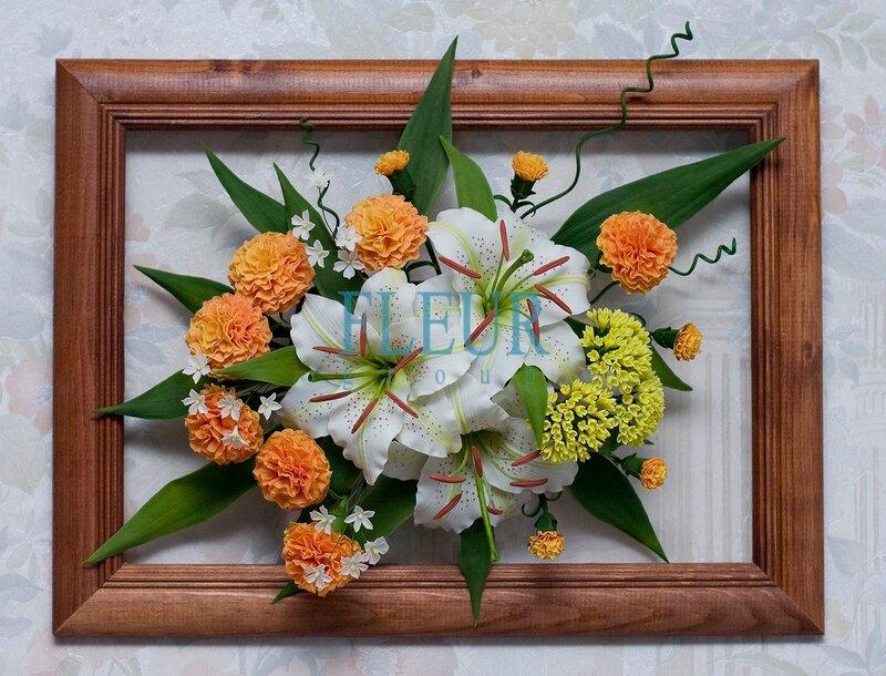 Керамическая флористика. Цветы из глины. Fleur-Group