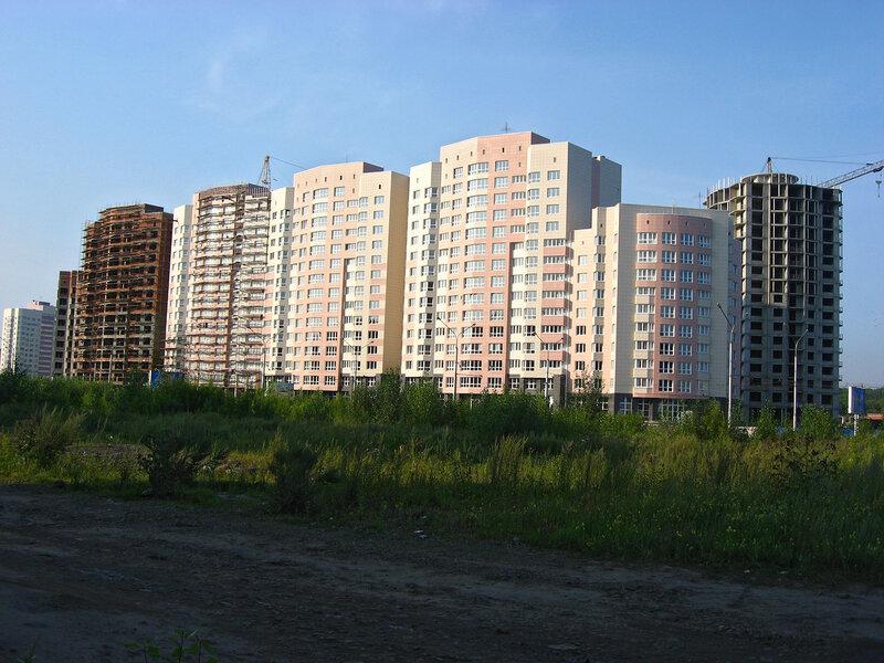 Новостройки на ул. Ермакова