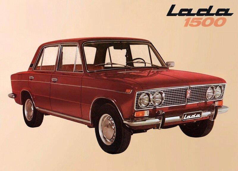 Советские автомобильные открытки