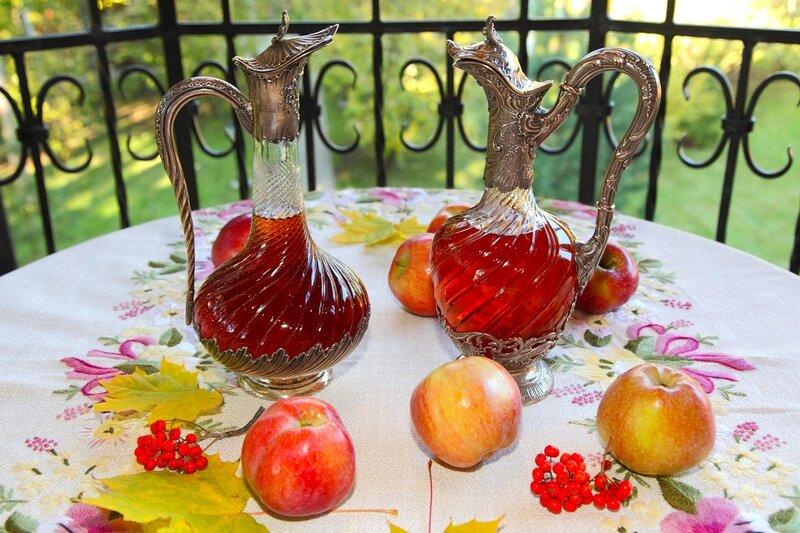 Яблочное вино (домашнее)