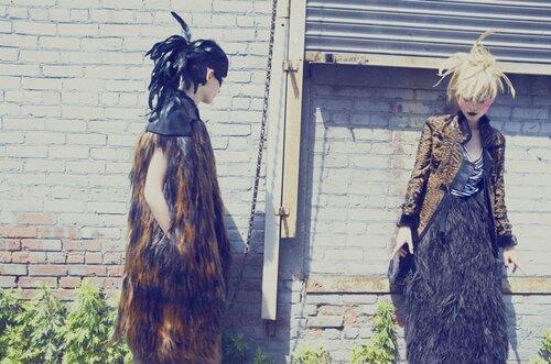 фотографы необычный fashion story fashion  Птицы, бунтарство, фешн