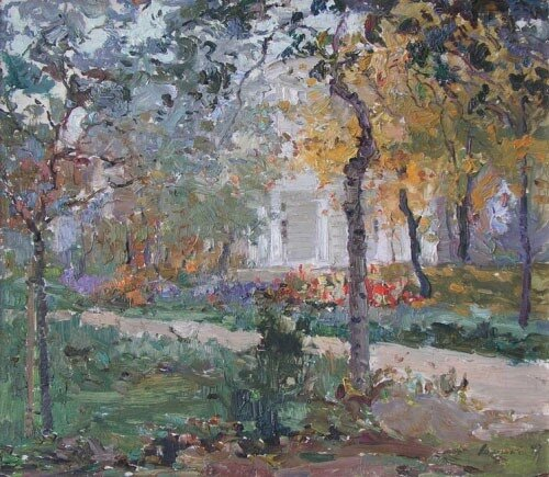 Осень. Аскольдова могила