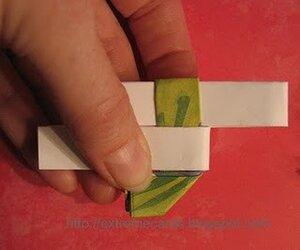 Бумажный браслет мастер-класс