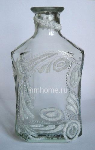 Бутылка с хрустальной пастой