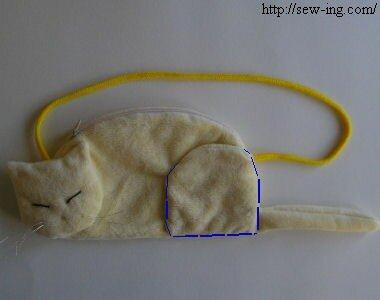 Сумка в форме кошки