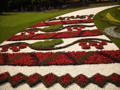 Праздник цветов на Спивочому поли