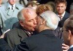 60 Jahre Bundesrepublik -  Honecker und Gorbatschow