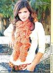"""На нашем сайте для девушек  """"Дамочка """" Вы постоянно можете найти публикацию - вязание крючком шарфа схемы..."""