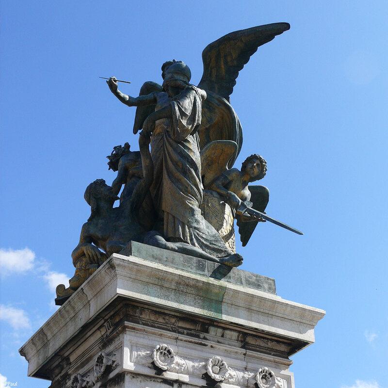 «Алтарь Отечества» - Мемориал Виктора-Эммануила II