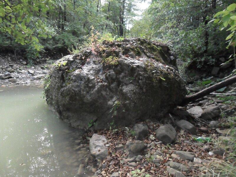 У реки, в окрестностях Горячего Ключа