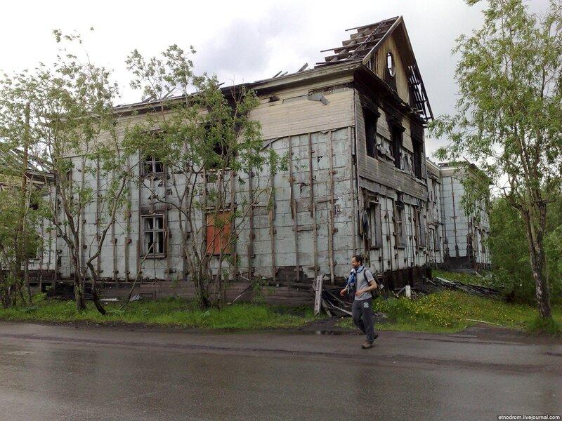 Дестрой на улице Ленинградская