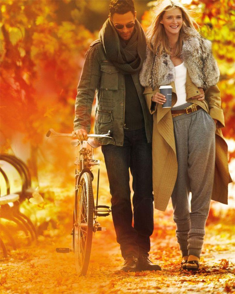 Кармен Касс и Ноа Миллз / Carmen Kass and Noah Mills by Mario Testino for Michael Kors fall 2010