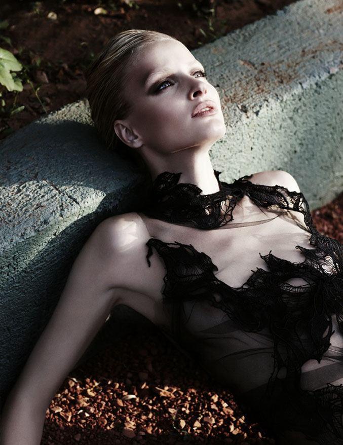 модель Вера / Vera, фотограф Emma Tempest